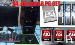A4, A6 and A8 Kaveri Complete PC Set and Packages
