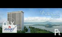 Facing Taal Lake 15th floor Tower 4 Ready for