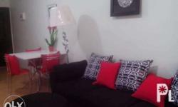 1 br Fully furnished Walking distance to sm ecoland