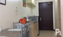 Fully furnished unit. Ideal for student or working