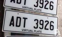 for euro size plate -650 per pair for philippine plate