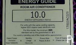 0.5 HP condura aircon with 1pc. safety breaker and