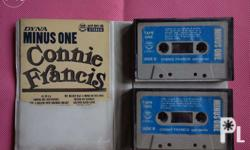 Rare Connie Francis Twin Pack Two Cassette Minus one by