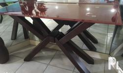 Wood console table Used