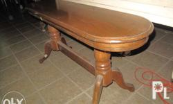 selling solid oak wood console tabel i have rectangular