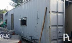 for sale: -40 footer container van. -pansamantalang