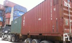 Container Van For Sale ILOILO AND BREDCO BACOLOD (RENT