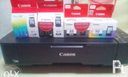 Continuous ink system installation for Canon any model