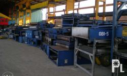 Surplus USA Conveyor roller assembly Front Driven with