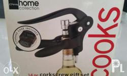 From New York Wine opener Complete set Contact: Chona