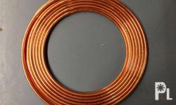 Copper Tube 3/8 x 0.24 x 50ft Brandnew Available 1 roll