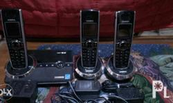 Uniden dect 6.0 cordless phone 1 main and 2 extension