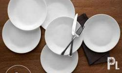 Corelle lunchplate measures 8.5 inches in diameter