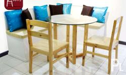 A great solution for spaces too small to put a dining