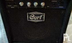 Cort 15 watts bass amp with Built-in Compressor