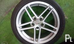Specs: 275/35Z R18 315/35Z R19 Tires Included, see to