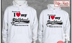 Customize couple hoodie.Being gift in any
