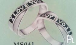 Free engrave for more design couple ring please message