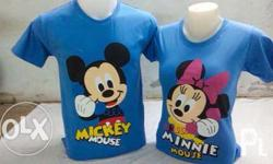 Micky and minnie couple shirt Free size Php 750.00