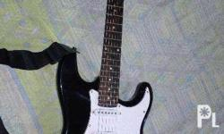 For sale Crescent Electric Guitar (Black) 3,500php