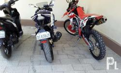 for sale or.swap both bikes 1. crf250L in very good