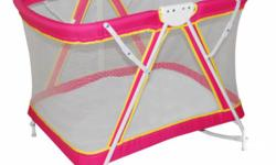 GIANT CARRIER CRIB/PLAYPEN BRIGHT STARTS PLAYGYM BABY