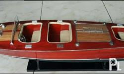 Cris craft display speedboat ideal for office/home