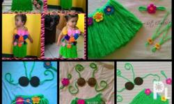 Made to Order Crochet Hawaiian Costumes perfect for