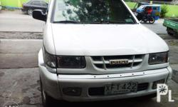 This Isuzu Crosswind is a limited 2003 edition.