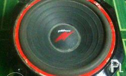400 only Crown 8 inch speaker(single) 8 ohms one