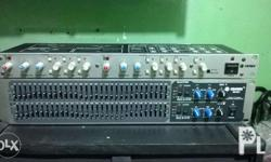 Crown 2nd hand equalizer EQ231 2nd hand 2/3way active