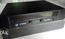 -crown xls 402 power amplifier -110 volts -made in