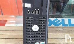 RAM: 2GB HDD: 160GB DELL Casing Slim type Visit our