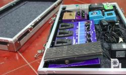Custom-built Guitar Effects Pedal Cases Pedal Board and