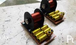 Custom Made Bandpass Crossover Network for Home and Car