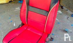 Customized Leather Seats for your Cars!! (Badoc I.Norte