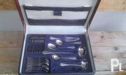 Beautiful cutlery set plus serving accessories. German