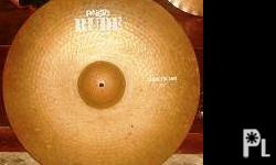 "vintage (rare) Paiste RUDE 22"" ride cymbals made in"