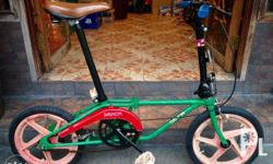 "Dahon Classic Folding Bike size 16"" Couple Bike (2"