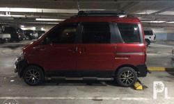 selling our beloved van.. brand new tire lahat front