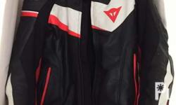 Dainese veloster perforated leather jacket Size 50