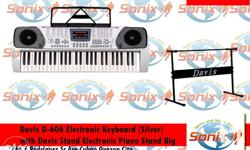 54 keys, LED display 168 GM types 60 demo Songs / 2