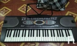 Budget piano especially for beginners. It comes with