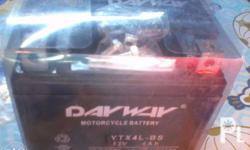 for sale brand new dayway motorcycle battery 4L=php450