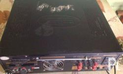 DB amplifier at 1500 watts Good condition.