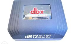 Brand New DBX 12 Active Direct Box FB Page Rhythmix