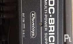 Dc brick by jim dunlop 7 9v in plus 3 18v input Can