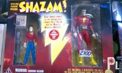 DC Direct Classic Silver age Shazam and Billy Batson.