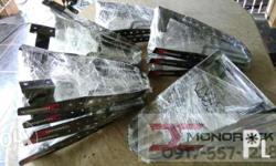 Heavy duty monorack for different types of motorcycle.