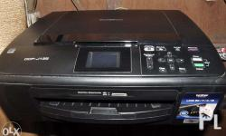 DCP-J125 Brother 3in1 Printer, xerox, scan. 2,300